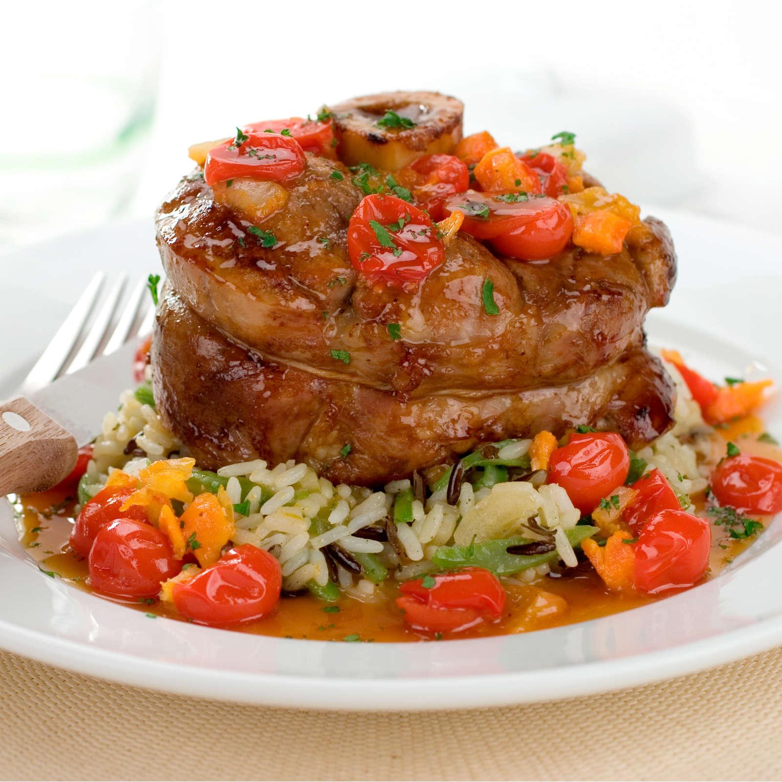 Jarret de veau recettes vid os et dossiers sur jarret de veau cuisine actuelle - Comment cuisiner le jarret de veau ...