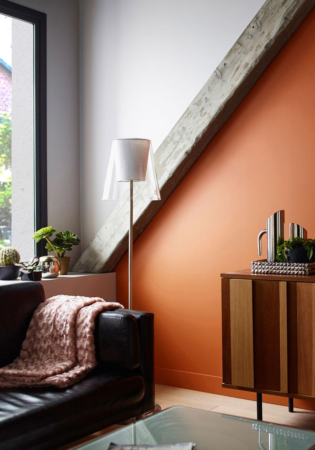 Décoration D Intérieur Bien Utiliser L Orange Femme Actuelle