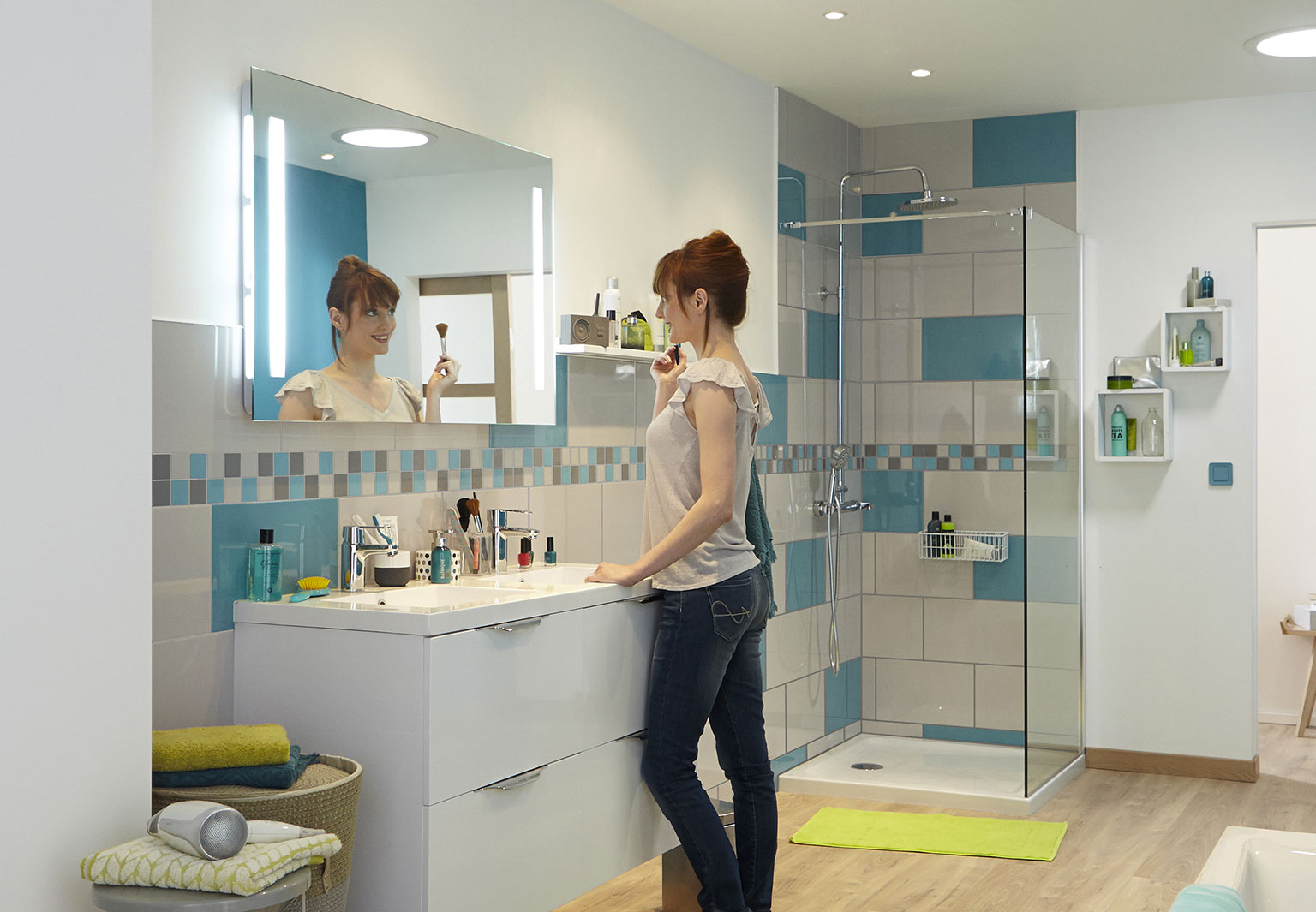 Osez la salle de bains Leroy Merlin - Femme Actuelle