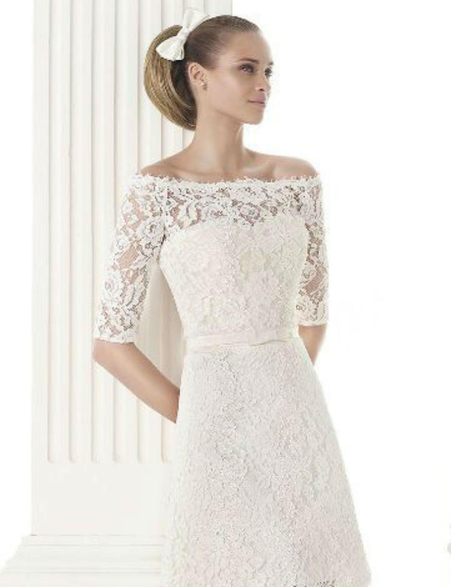 15 robes de mariée courtes super tendance