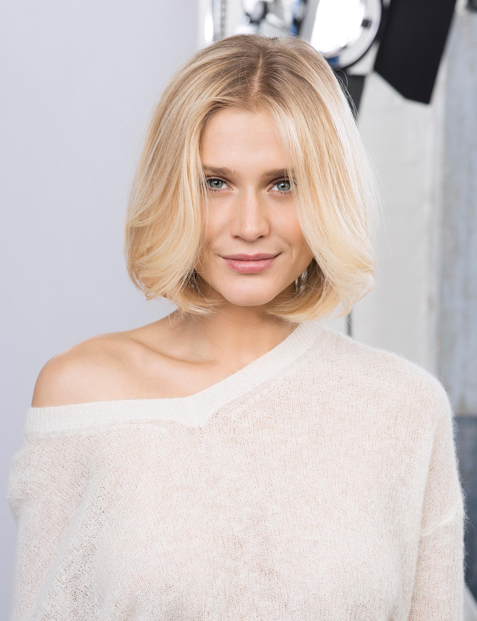 Coupe De Cheveux Femme Carre Long Blond   Coiffures Cheveux Longs