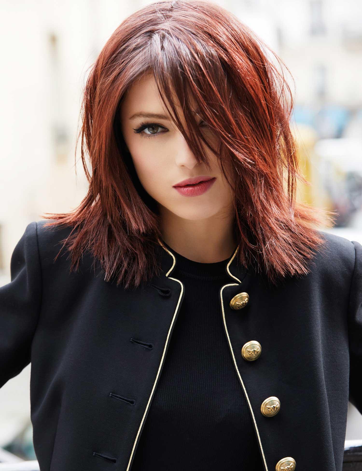Mi Long Droit Mi Long Coupe De Cheveux Femme Carre | Coiffures Cheveux Longs