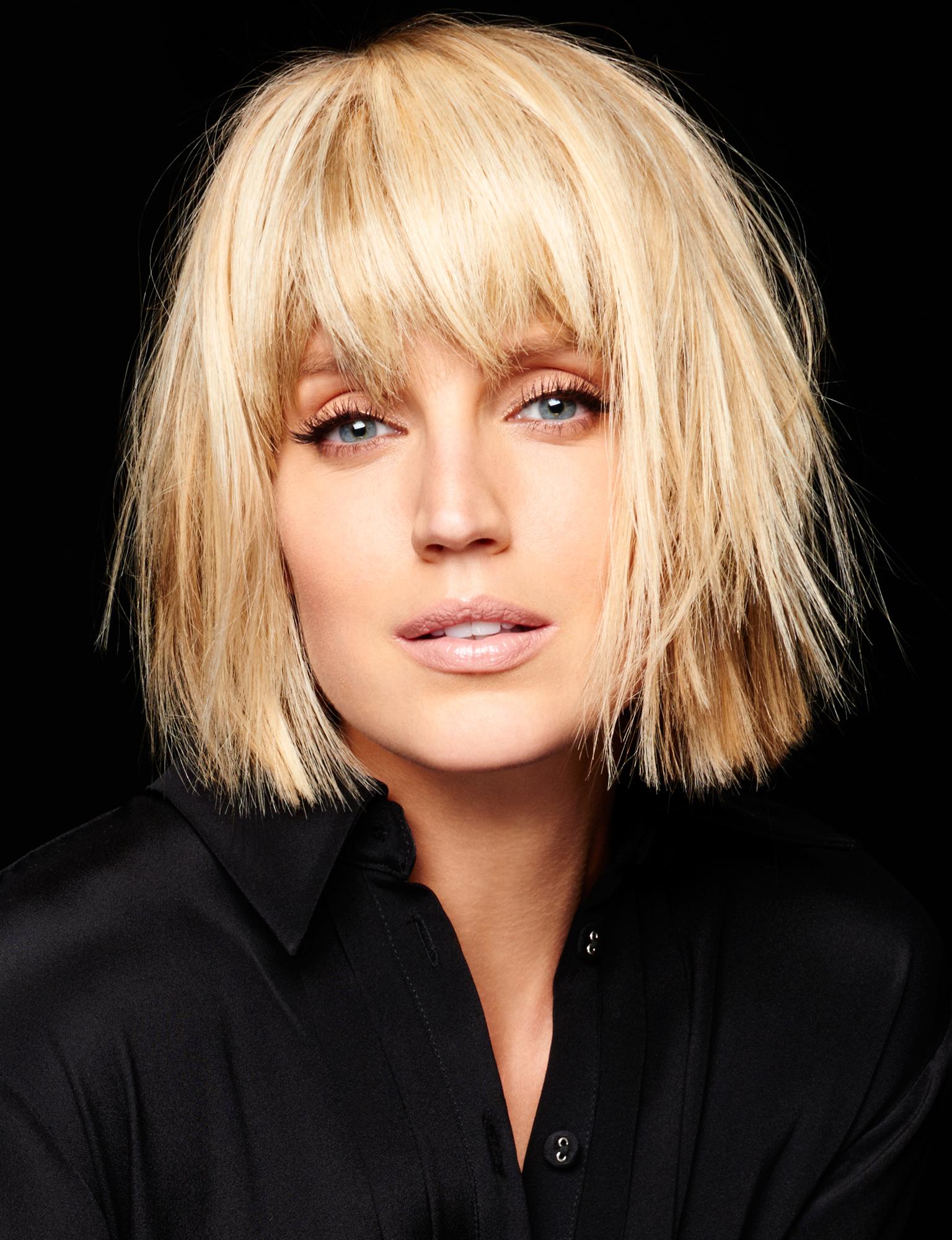 Coiffure Femme Frange Cote | Coiffures Cheveux Longs