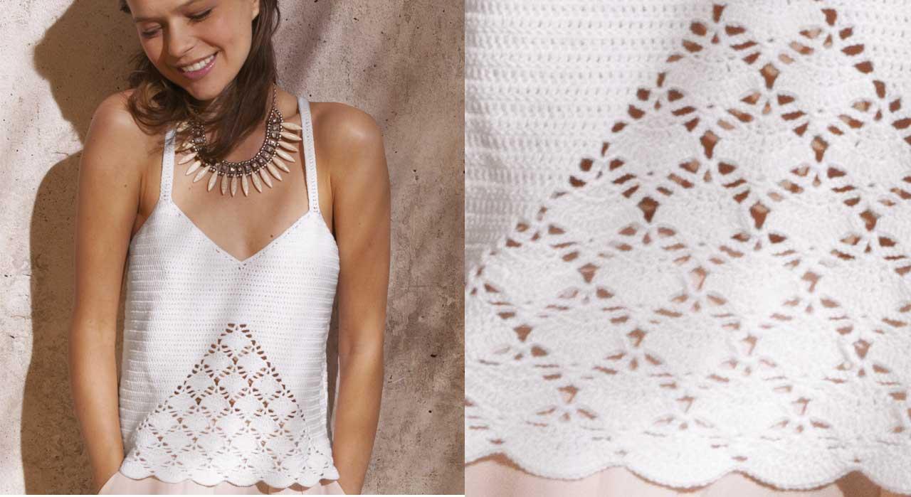 Tricot Et Crochet Nos Meilleurs Modèles Pour Lété Femme