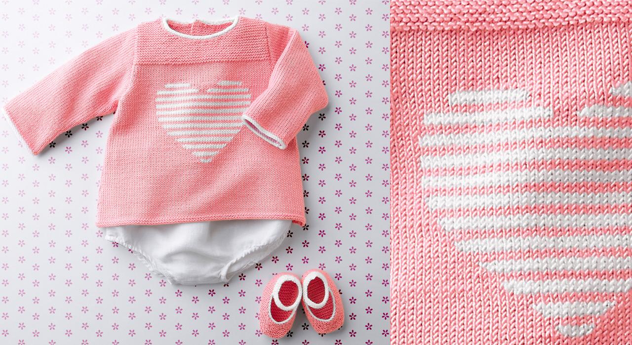 Tricot Bebe Nos Layettes Faciles A Tricoter Femme Actuelle