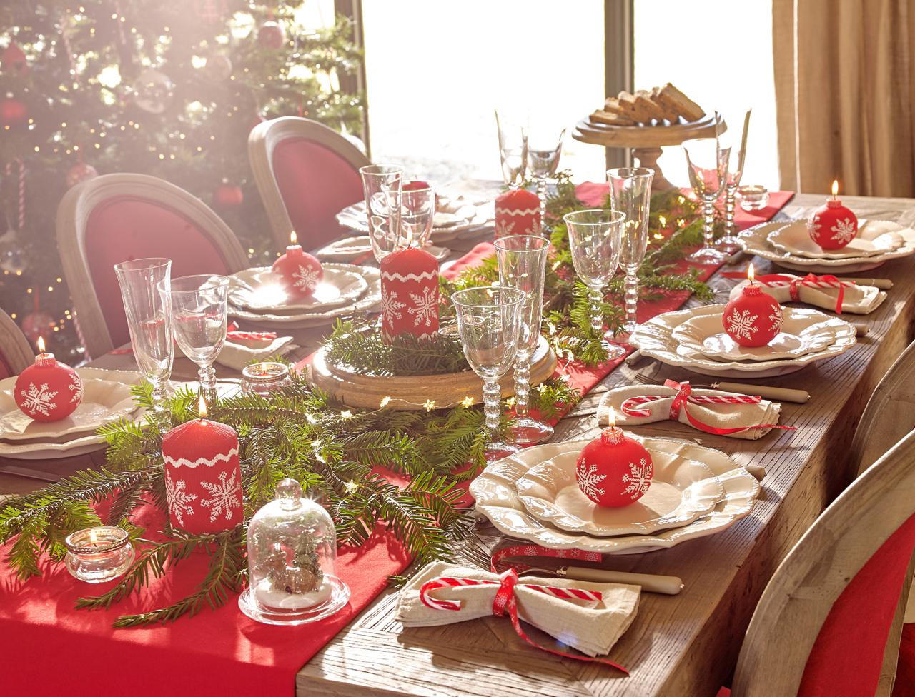 Table de Noël : nos idées de décoration en vidéos et photos