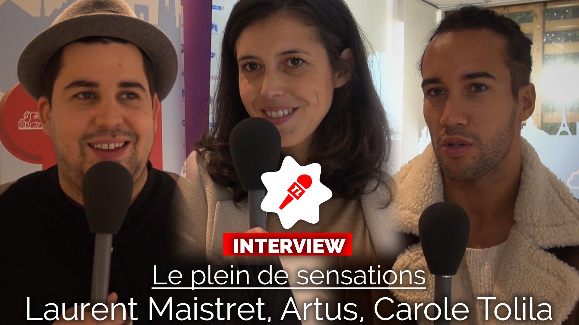 Le plein de sensations : Artus, Laurent Maistret et Carole Tolila dévoilent leur phobie