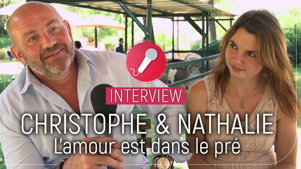 """Christophe et Nathalie (L'amour est dans le pré) : """"On se dit qu'on a rien à perdre"""""""