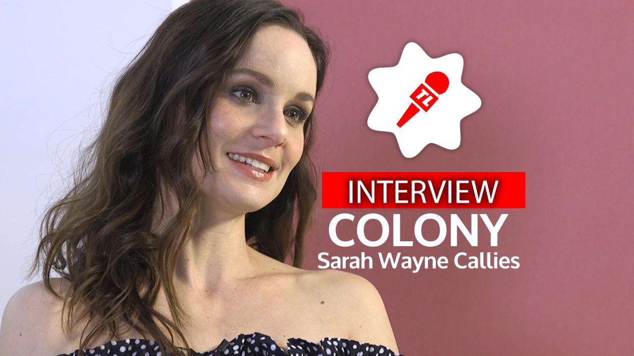 """Sarah Wayne Callies (Colony, TF1) : """"J'espère que j'aurais le courage de résister"""""""