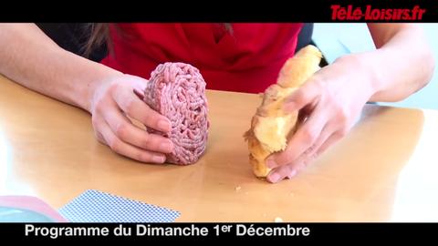 La Speakerine : Un croissant face à un steak... Qui va l'emporter ? (programmes du 1er décembre)