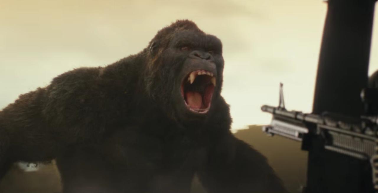 Kong - Skull Island : King Kong très très colère dans la deuxième bande-annonce !
