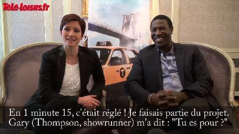 Taxi Brooklyn : interview de Chyler Leigh et Jacky Ido, les acteurs principaux de la série