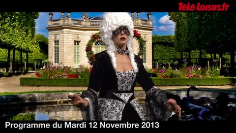 La Speakerine est une Marie-Antoinette très très distinguée (programmes du 12 novembre)