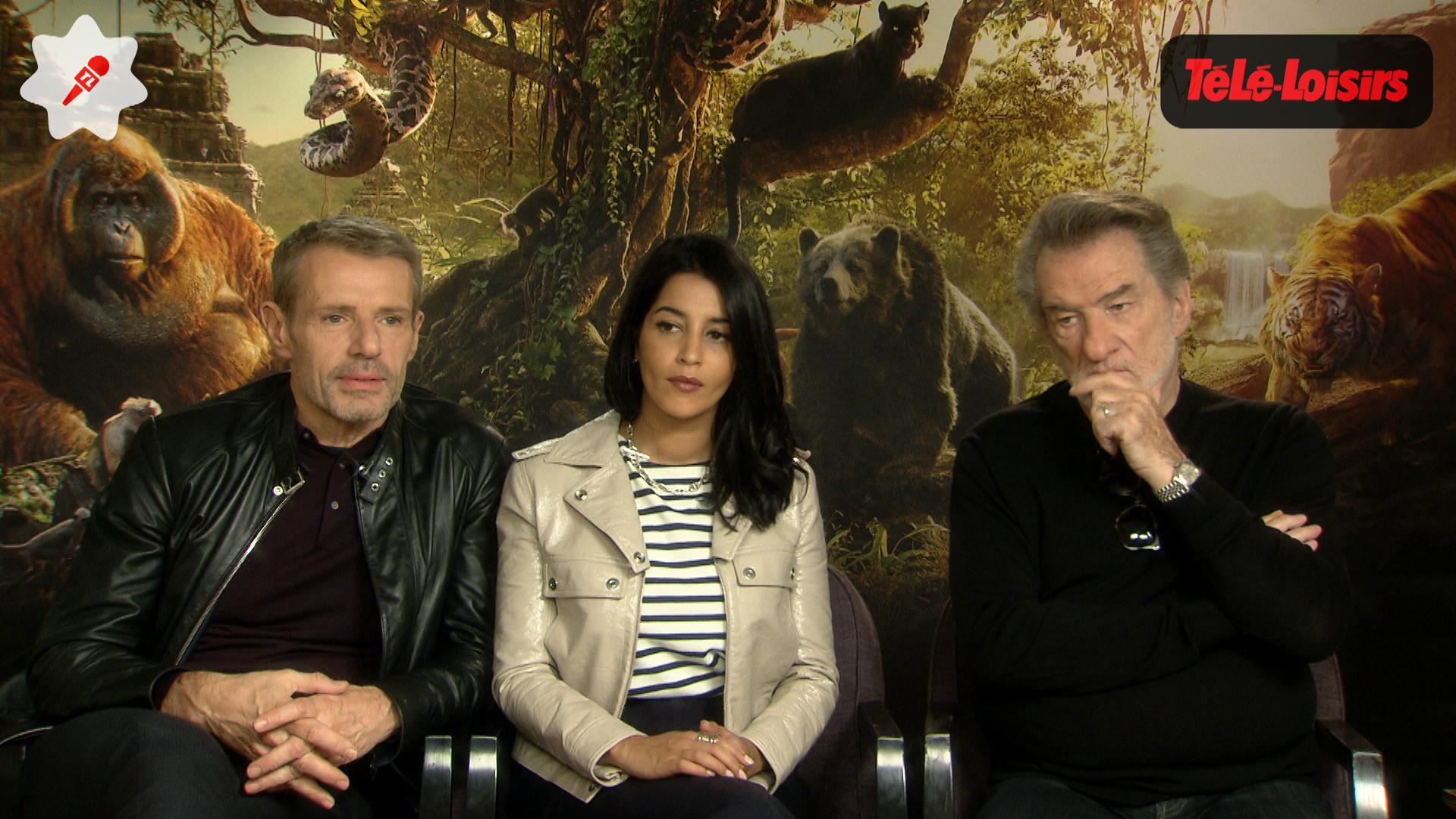 Le Livre de la Jungle : Lambert Wilson, Leïla Bekhti et Eddy Mitchell ont adoré prêter leurs voix au film (INTERVIEW VIDÉO)