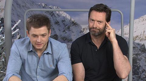 """Hugh Jackman à propos d'Eddie The Eagle : """"Ce type était un peu cinglé, mais..."""""""