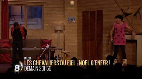 Les Chevaliers du Fiel Noël d'Enfer (D8) - vendredi 11 décembre
