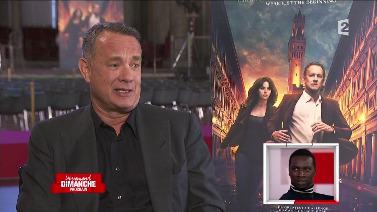 Tom Hanks chante les louanges d'Omar Sy dans Vivement dimanche prochain