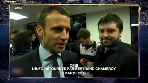 OFNI, l'info retournée par Bertrand Chameroy