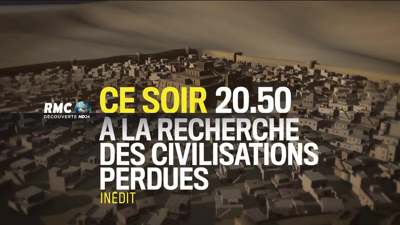 A la recherche des civilisations perdues - 12 décembre