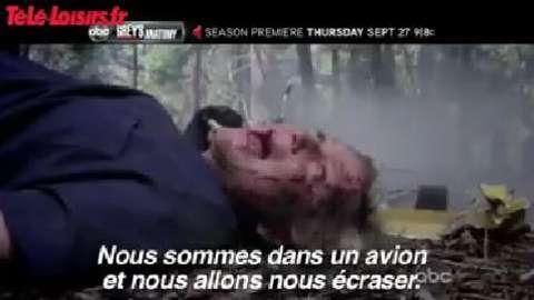 Grey's Anatomy : Teaser de la saison 9 (VOST)