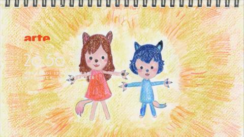 les enfant loup amen et yuki