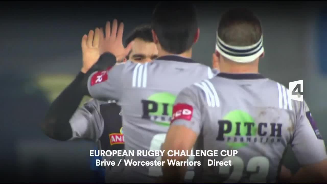 Rugby - Brive/Worcester W. - 14 janvier