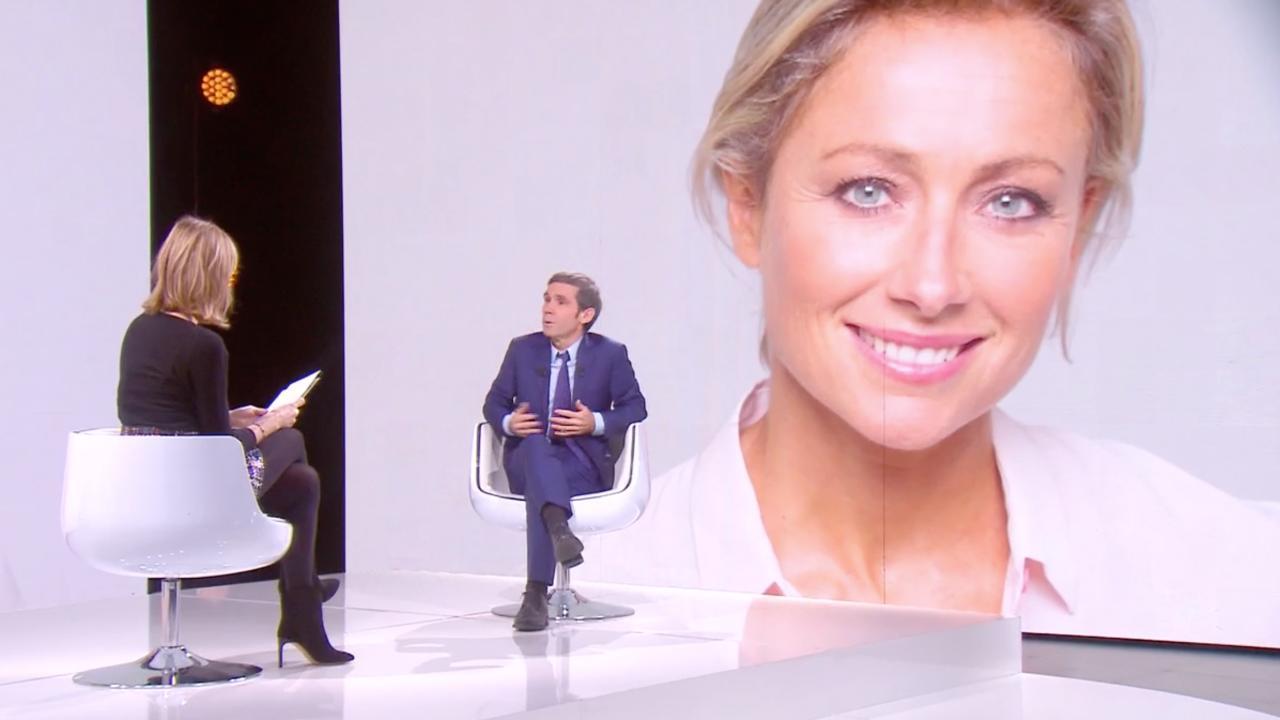 David Pujadas complimente Anne-Sophie Lapix mais relativise les audiences de son 20 heures