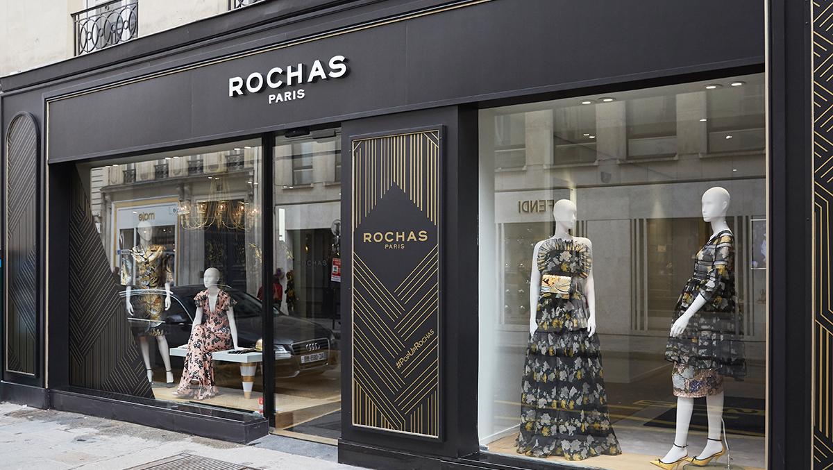 Rochas investit la Rue Saint-Honoré pour son premier pop-up