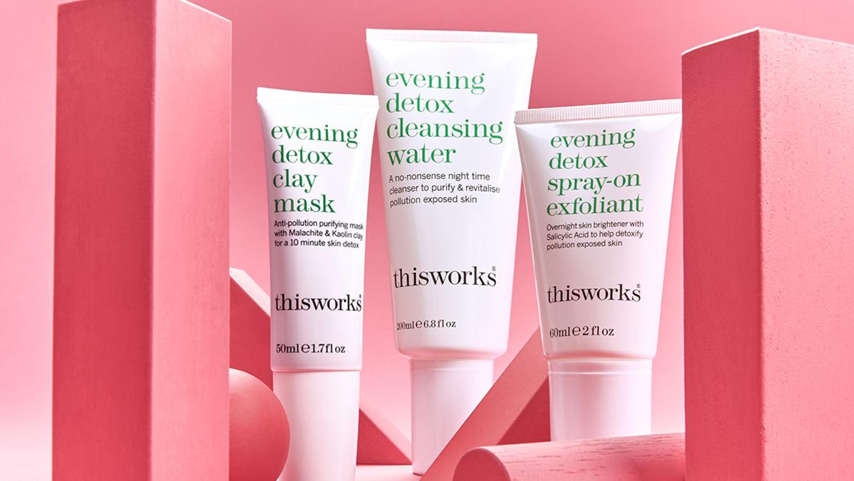 Evening Detox, la nouvelle collection This Works pour une peau réveillée