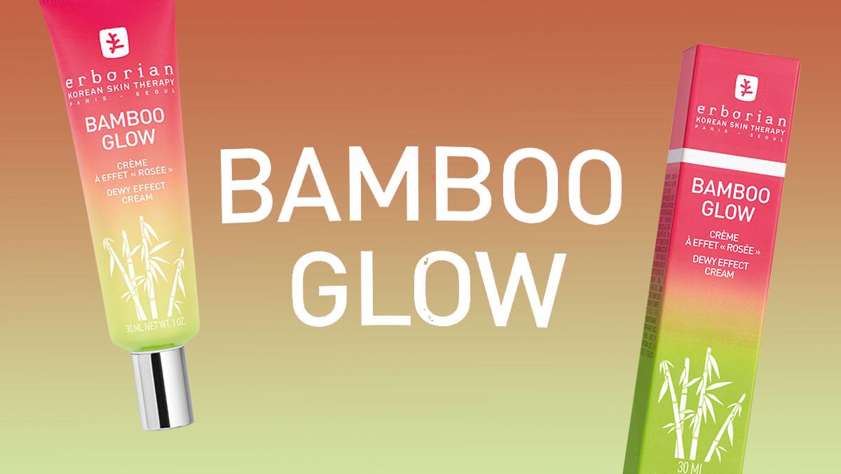 Avec Bamboo Glow, Erborian nous fait rosir !