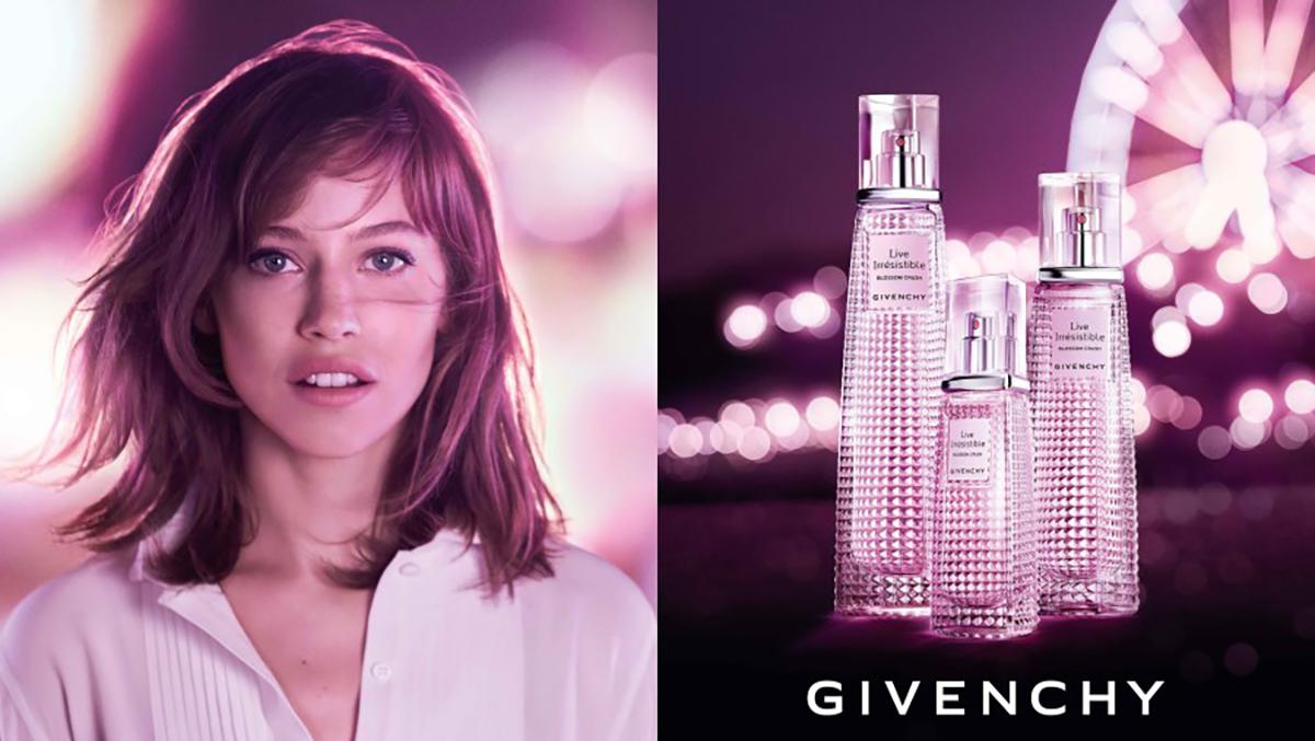 Lou de Laâge, une nouvelle égérie pour Givenchy