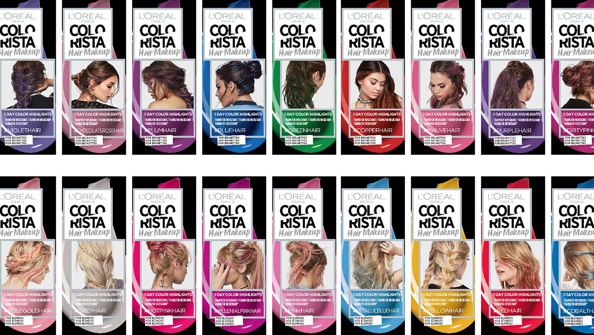 Colorista Hair Makeup L Objet Du D 233 Lire Par L Or 233 Al Paris