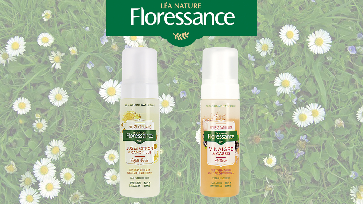 Mousses Capillaires Floressance, la brillance au naturel