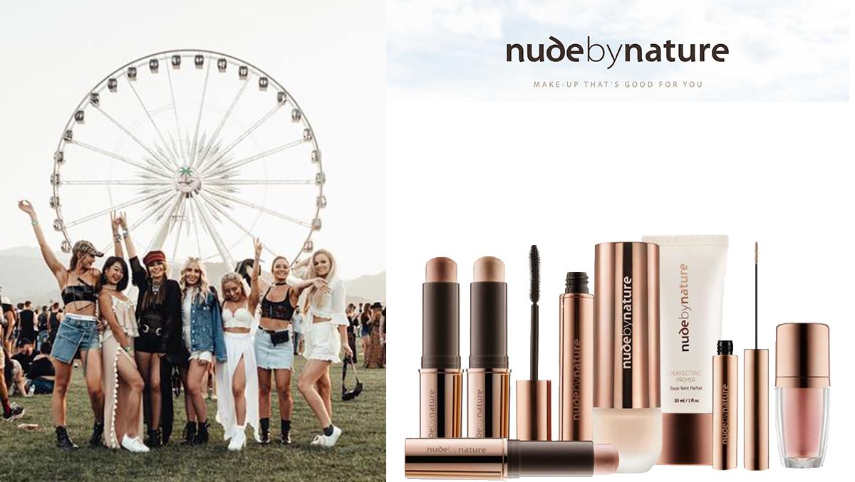 Prête pour la saison des festivals avec Nude By Nature