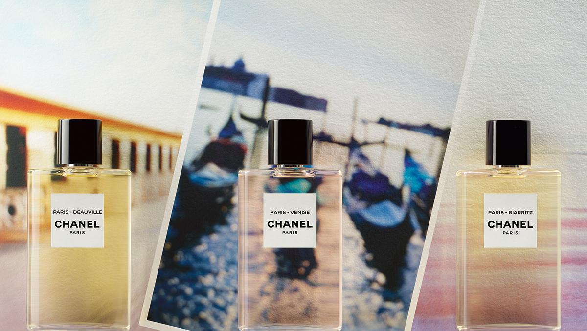 Voyage en Eaux parfumées avec Chanel