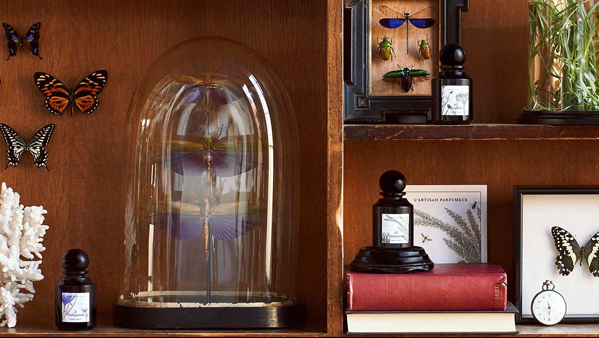 Le petit cabinet de L'Artisan Parfumeur x Deyrolle