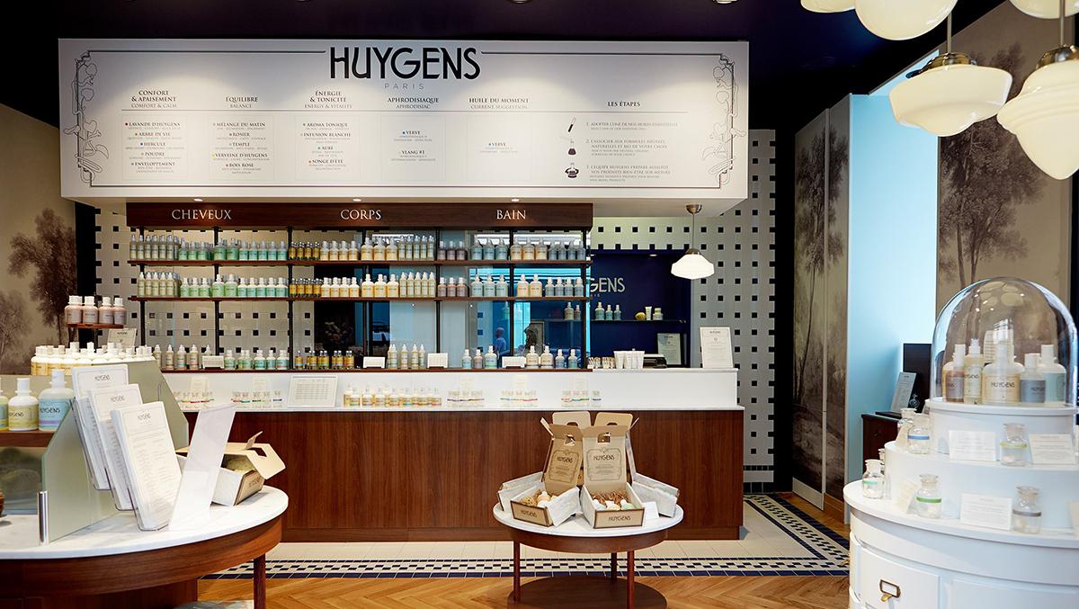 Huygens prend ses quartiers aux Galeries Lafayette