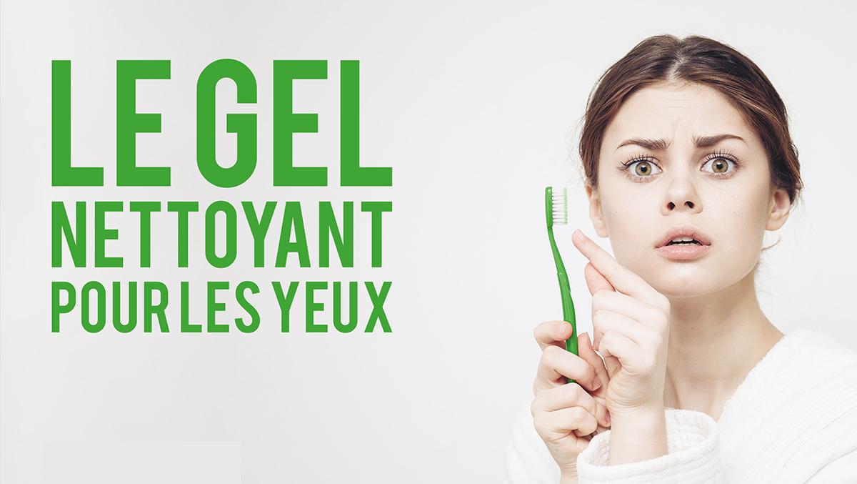 L'hygiène, c'est aussi de se laver les yeux avec Vyséo
