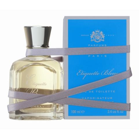 Etiquette Bleue ou le romantisme fait parfum
