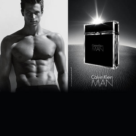 Calvin Klein Man, l\'idéal masculin fait parfum