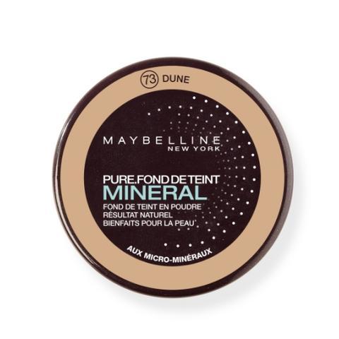Maquillage minéral par Gemey-Maybelline