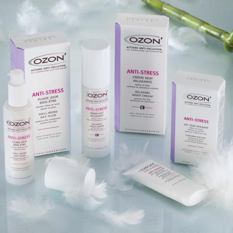 On adore... La ligne de soin Anti-Stress Ozon\'