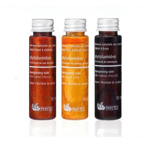 Mini shampooings pour maxi reflets par Phyto
