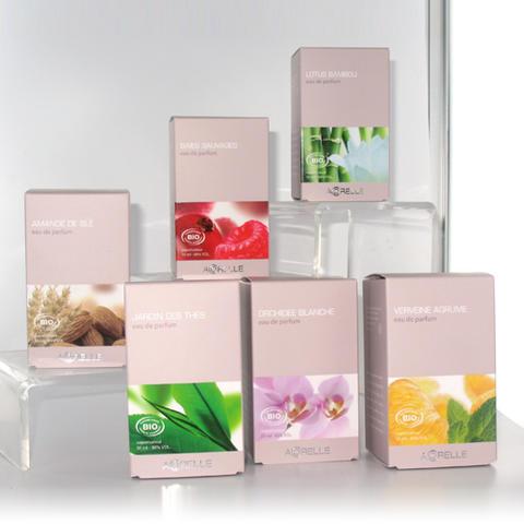 Place au bien-être avec les parfums bio Acorelle