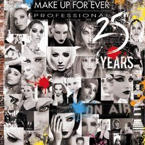 Happy 25th Birthday, Make Up For Ever !