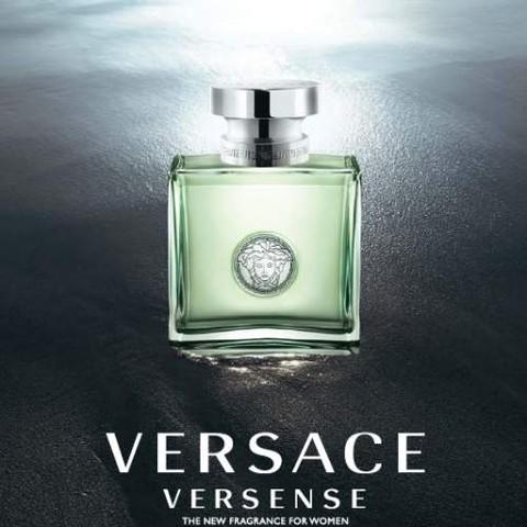 Versense, le nouveau parfum de la femme Versace