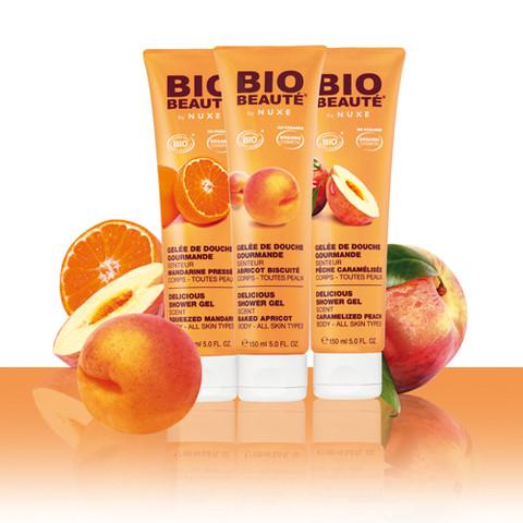 Des fruits gourmands pour la douche par Bio-Beauté