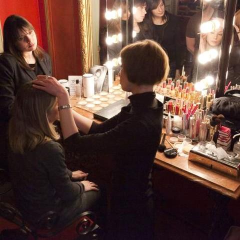 Un atelier maquillage au Studio Harcourt Paris