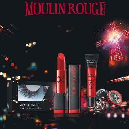 Dans les coulisses du Moulin Rouge avec Make Up For Ever