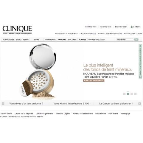 Le site Clinique.fr se refait une beauté